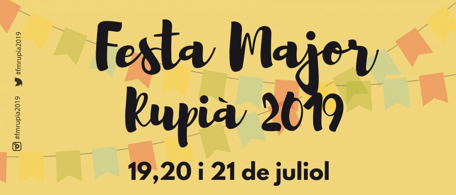 Festa Major Rupià 2019